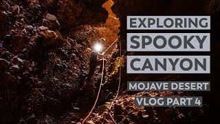Hiking Afton & Spooky Canyons in the Mojave Desert | VLOG Part 4