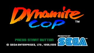 Dynamite Cop Sega Dreamcast Co-Op Playthrough