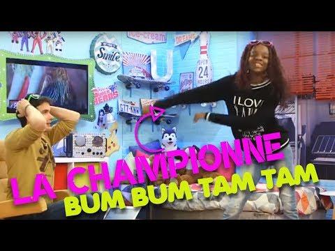 BM BUM TAM TAM avec LA CHAMPIONNE/ LE MONDE DE LISA
