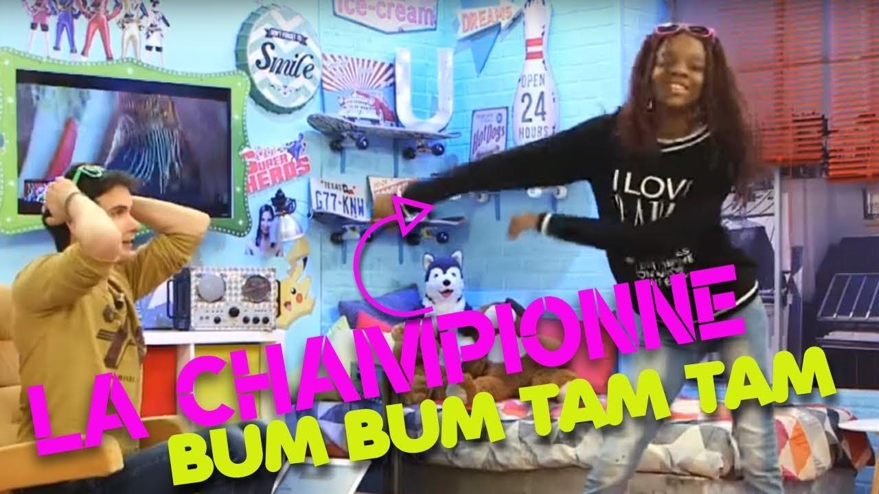 Bm bum tam tam avec la championne le monde de lisa youtube for Dans boum boum tam tam