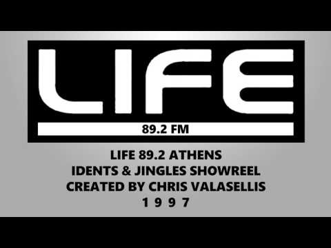 LIFE FM 89.2 ATHENS JINGLES 1997