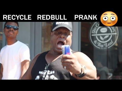Recycle REDBULL PRANK -Julien Magic