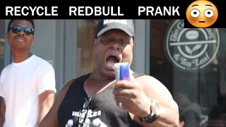 Recycle REDBULL PRANK Julien Magic