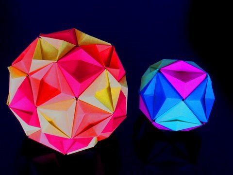 Papercraft Re: How to make an Origami Kusudama