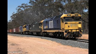 Gambar cover 8111 on D791V & a double rescued 7902V near Maryborough- 7/12/19