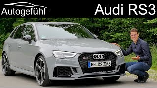 The fastest hot hatch? Audi RS3 400 hp FULL REVIEW - Autogefühl