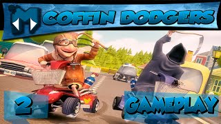 COFFIN DODGERS #2 COOP - AGORA COM MULTIPLAYER ONLINE! / GAMEPLAY 1080p 60fps PT-BR