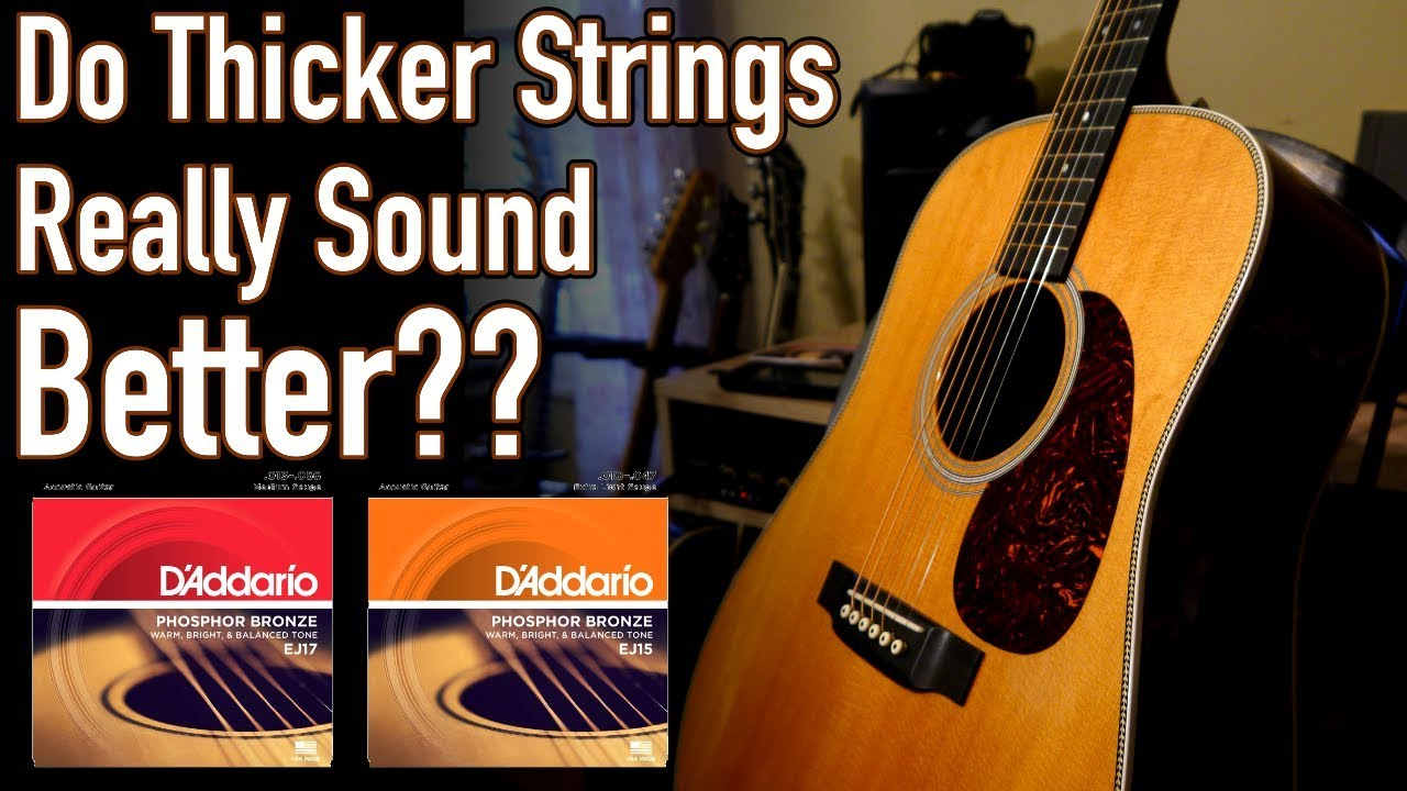 Does String Gauge Affect Tone 10 S Vs 13 S Comparison Youtube