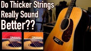 Does String Gauge Affect Tone? 10's vs. 13's Comparison