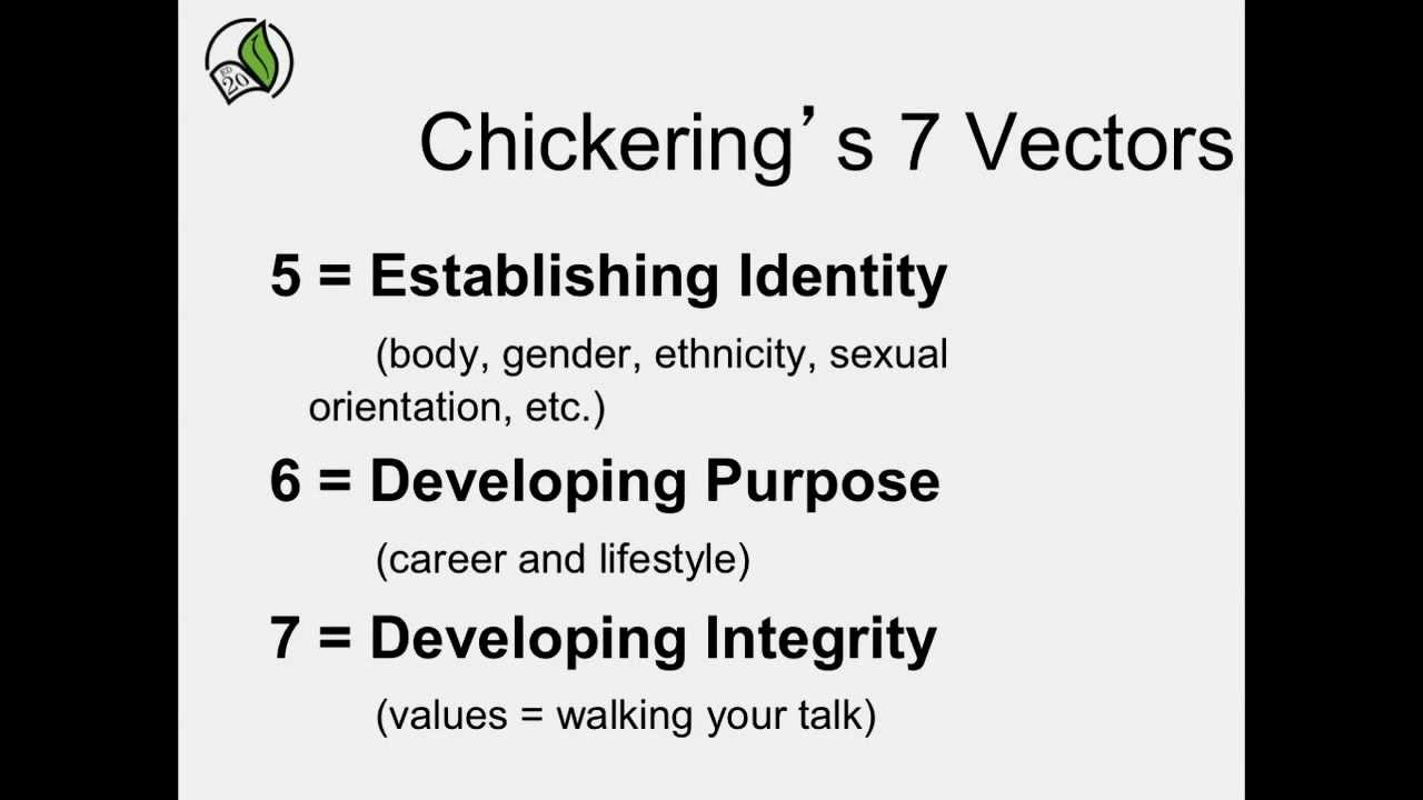 student development theory chickering
