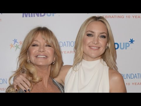 EXCLUSIVE: Kate Hudson Reveals The Best Love Advice Her Mom Goldie Hawn Gave Her