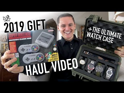 2019 Gift Haul - The Ultimate Watch Case, A Perfect Seiko SKX013, Iconic Alarm Clock, G-shock & More