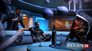 """Mass Effect 3: Citadel [DLC]"" walkthrough, The Party (relaxed + all dialogues/interactions)"