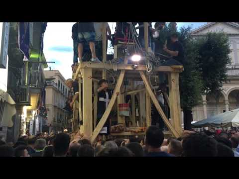 Nola 2017 - Giglio Spogliato Trinchese - Prima Alzata
