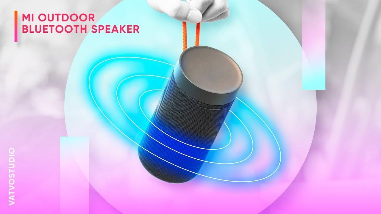 Mi Outdoor Bluetooth Speaker Loa 360 độ của Xiaomi siêu rẻ