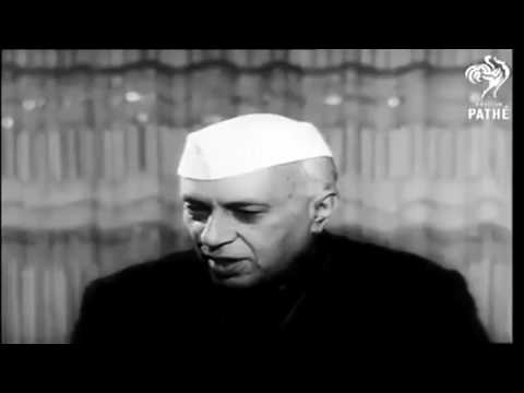 RARE JAWAHARLAL NEHRU'S INTERVIEW IN HOLLYWOOD, CALFORNIA