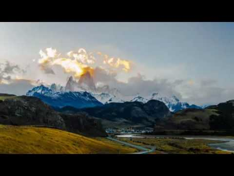 Timelapse of Mount Fitz Roy in El Chalten, Patagonia, Argentina