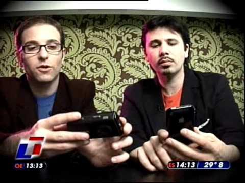 TN Tecno 1-2 Nokia N95 8gb y iPhone 3G