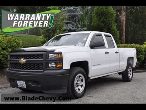 2014 chevrolet silverado 1500 work truck crew cab 4x4 7529a youtube. Black Bedroom Furniture Sets. Home Design Ideas