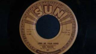 Carl Perkins - Lend me your comb