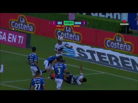 Resumen Final en el encuentro entre Querétaro vs Pumas | Liga Mx