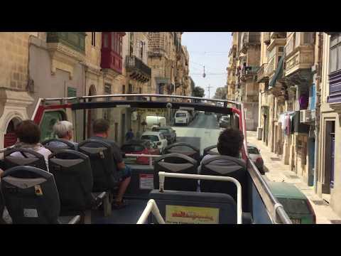 Sightseeing Valletta, Malta