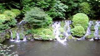 椿山荘の滝(文京区関口)