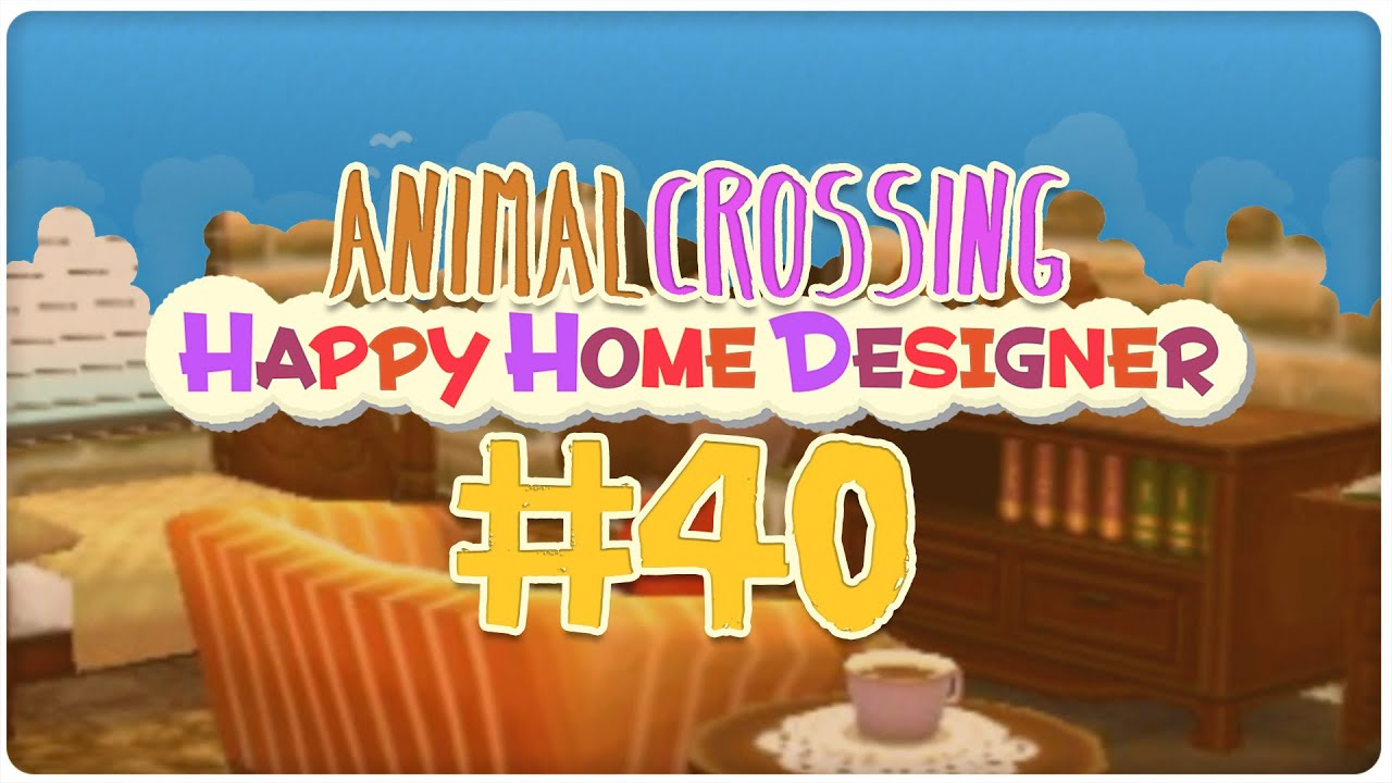 40 Hotel 3 3 Animal Crossing Happy Home Designer Youtube
