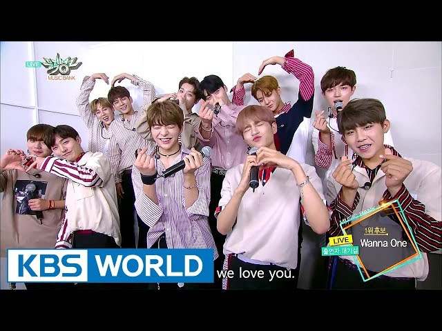 [1 Click Scene] Behind the Scenes of Wanna One's Top Song Ceremony (Music Bank 2017.08.25)