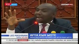 Afya kwa wote: Waziri kariuki azungumzia mpango wa afya kwa wote mbele ya seneta