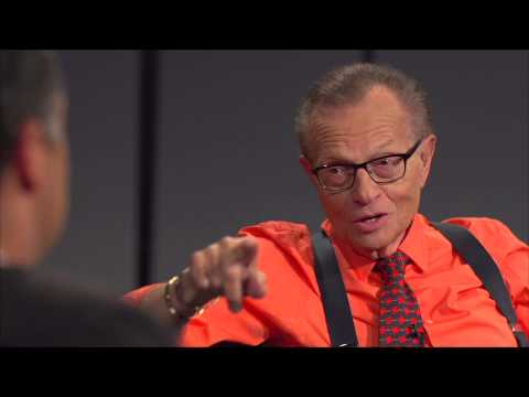 Soft Questions? Larry King Explains His Interview Style