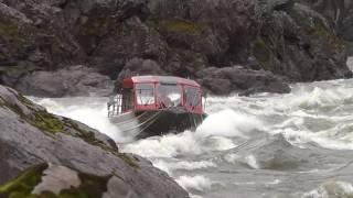 Lower Salmon River Jet Boat Wright Way Drop Idaho Viking