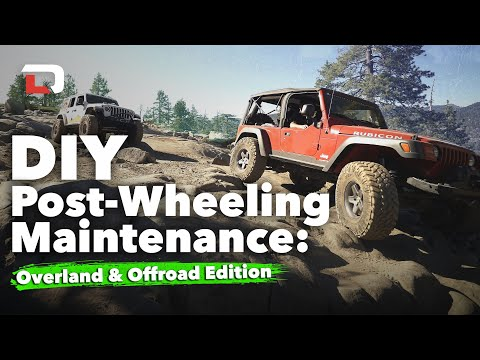 DIY Maintenance Overlanding and Off-Roading | Harry Situations
