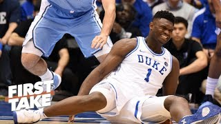 Zion's injury will motivate the NBA to reexamine the one-and-done rule – Max Kellerman | First Take
