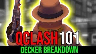 Q Clash 101 - Répartition de Decker (fr) Sous-alimenté mais très efficace! (Roblox Q Clash)