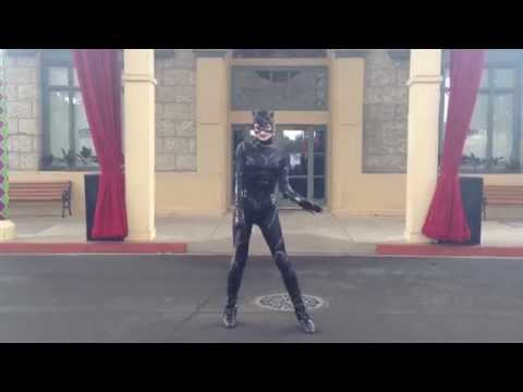 The Catwoman Show At Movieworld