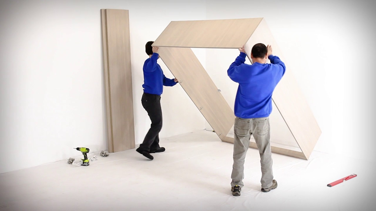 Wall Bed King CabiAssembly Instructions   YouTube