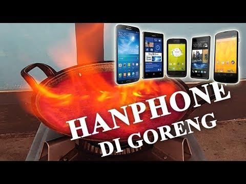 Eksperimen Handphone Di Goreng