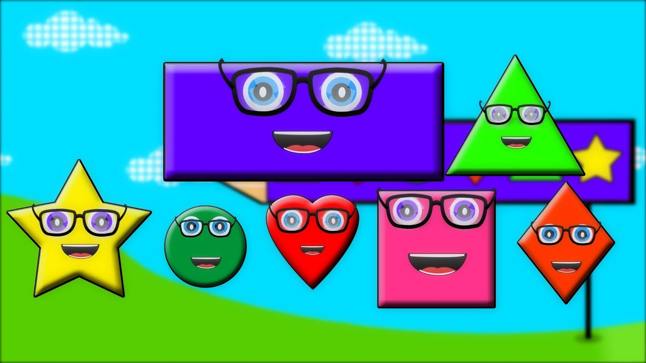 Shapes Song | Shapes For Kids | Nursery Rhymes Kids Tv | Babies Songs | Learning Videos