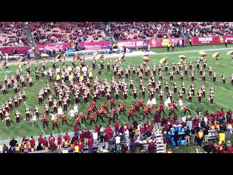 2017 USC Homecoming game Half Time Show