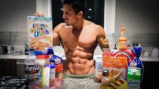 IIFYM Full Day Of Eating | Men