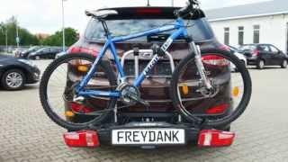 Erhaltet einen kurzen Eindruck vom überarbeiteten Fahrradträger Ueb...