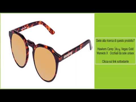 93069243d3e75 Hawkers Carey · Vegas Gold Warwick X Occhiali da sole unisex - YouTube