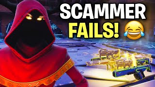 INSANE kid fails at scamming me! 🙃😆 (Scammer Get Scammed) Fortnite Save The World