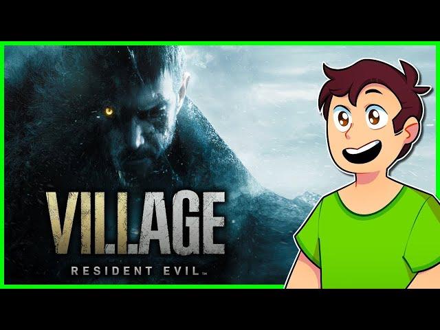 Resident Evil Village : Speedrun de Lobisomen - Dublado PTBR - DEMO 1 e 2 - CAPSLOCK