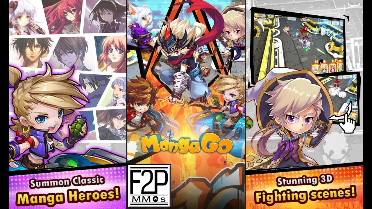 Manga go 3D / Chaos Saga Gameplay Android / iOS