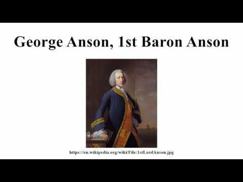 George Anson, 1st Baron Anson