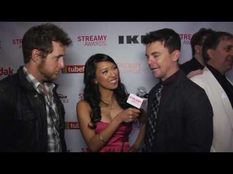 A.J. Buckley and Travis Wester2010 Streamy Awards Red ...