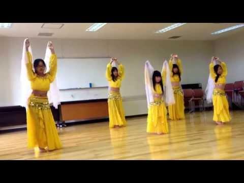 Amira Belly dance Studio Yukuhashi Kids.      www.amirabellydance.jp