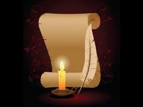 Incantesimo semplice con candela